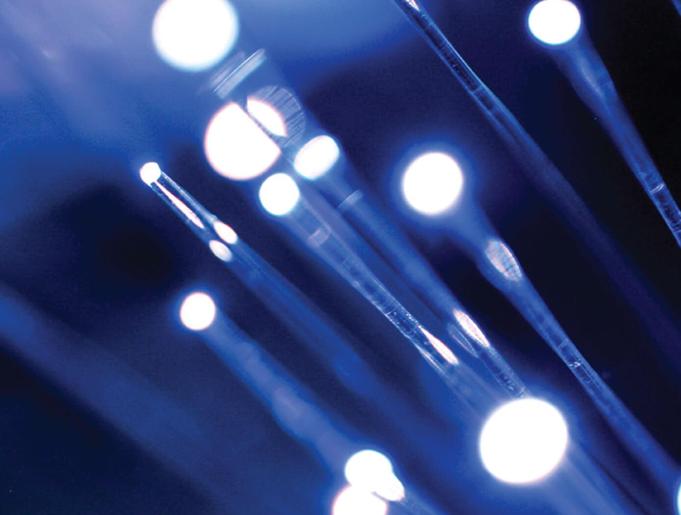 materials fiber optics