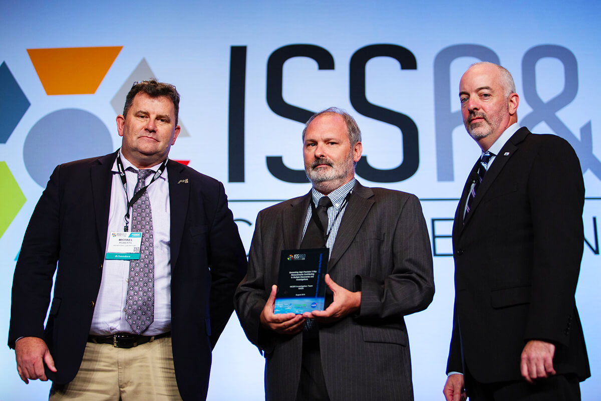 nicer issrdc 2019 award hook