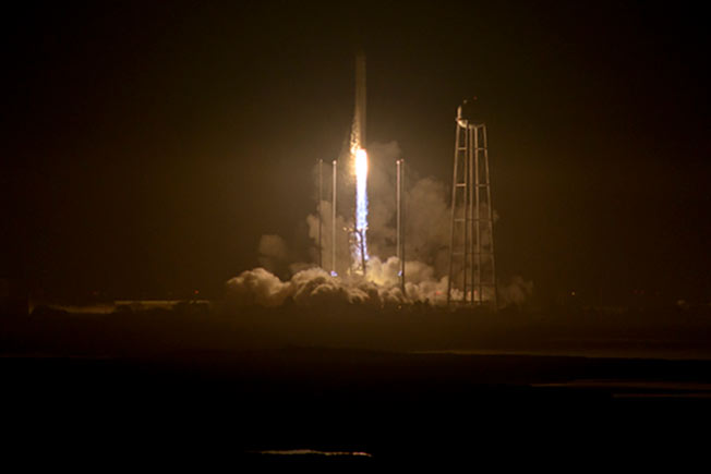oa crs 5 night launch