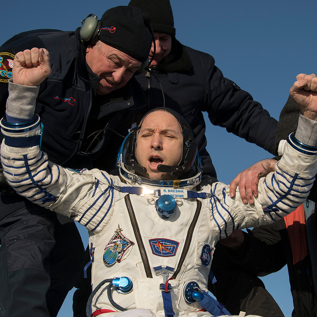international space station astronauts return to earth - photo #4