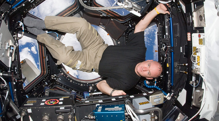 scott kelly sideways cupola