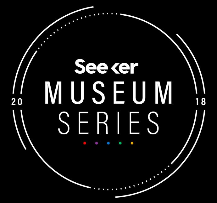 seeker night museum series logo