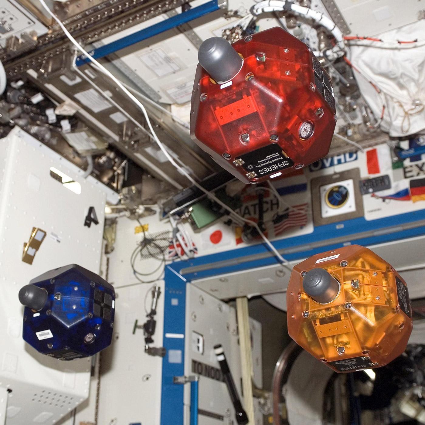 spheres zero robotics